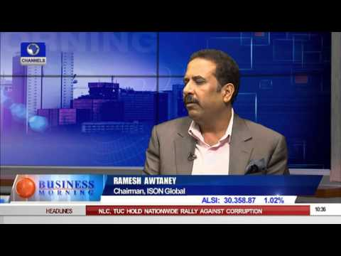 Business Morning: ISON Plans Modern Call Centres In Nigeria Pt 1    11/09/15