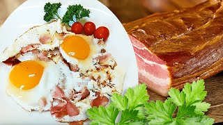 Savory Bacon and Eggs Recipe for Breakfast