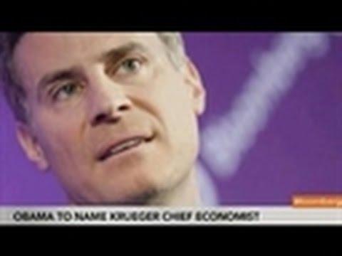Obama Said to Pick Krueger as Head of Economic Advisers