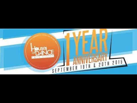 J sun vs Mosi || TOP 16 || ALLSTYLES || HOUSE OF DANCE: 1 YEAR ANNIVERSARY