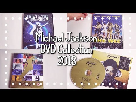 Michael Jackson DVD Collection // 2018