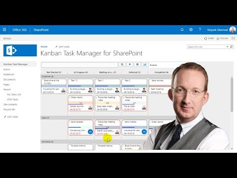 Kanban Task Manager for SharePoint Introduction