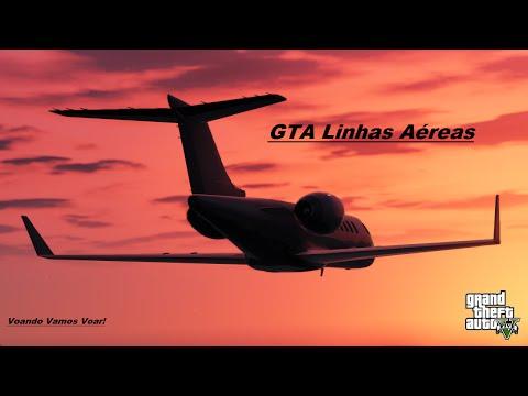 GTA V Online - GTA Linhas Aéreas - Luxor