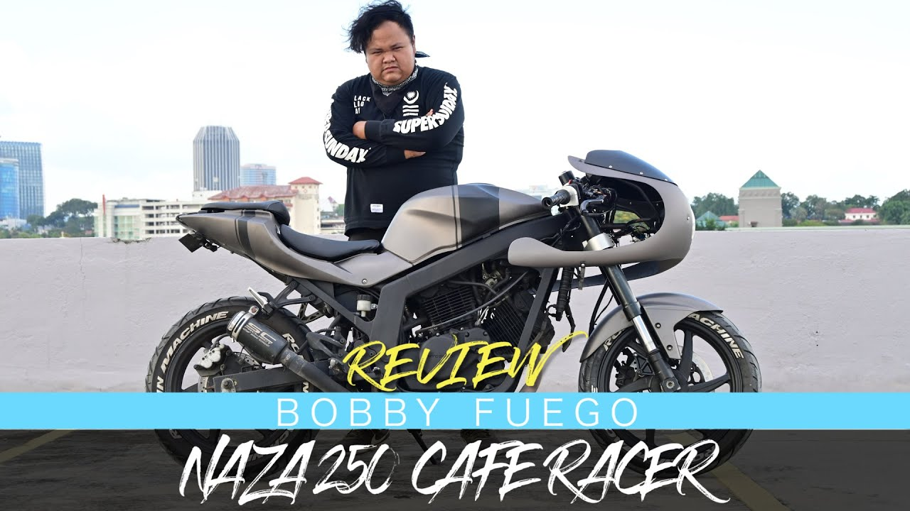 Naza Blade 250 Cafe Racer Bike Review 02 Youtube