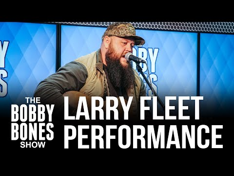 """Larry Fleet Performs His Song """"Where I Find God"""""""