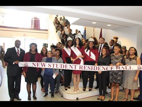 AAMU New Student Residence Hall Ribbon Cutting Ceremony
