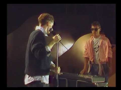 """Pet Shop Boys - West End Girls (1984 on """"Hits des Clubs"""", Namur, Belgium)"""