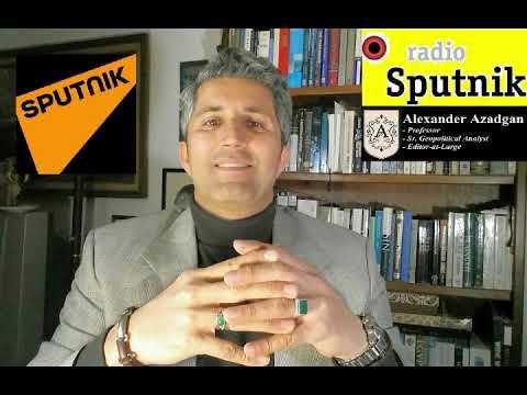 Prof. Azadgan (Live on Russia's Radio Sputnik) - Trumps's Wall & Populist Movement on Immigration