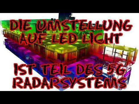 Die Umstellung auf LED Licht ist Teil des 5G Radarsystems