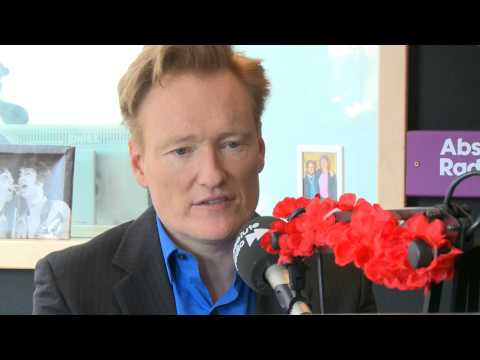 Conan O'Brien talks about struggles in his career