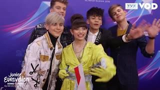 Eurowizja Junior – Na ceremonii otwarcia