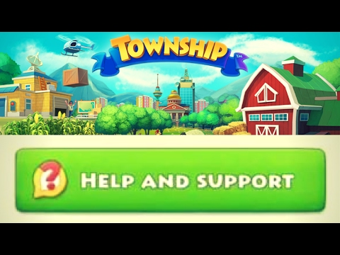 The HELP and SUPPORT section - TOWNSHIP LEVEL 42