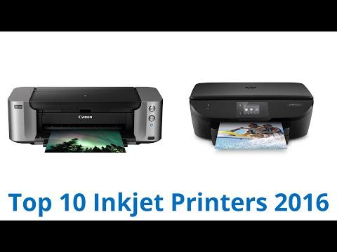 10 Best Inkjet Printers 2016
