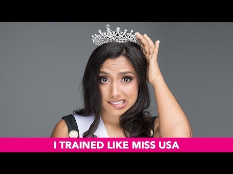 I Trained Like Miss USA For 60 Days PART 1