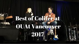 colifer best of jennifer morrison and colin o donoghue at the ouat vancouver convention 2017