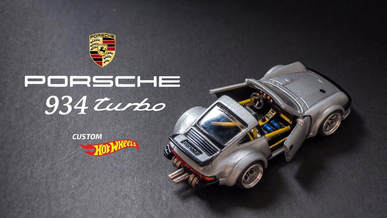 Porsche 934 Turbo Custom Hot Wheels Youtube