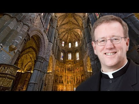 Bishop Barron Greetings from Avila, Spain