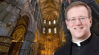 Fr. Barron Greetings from Avila, Spain