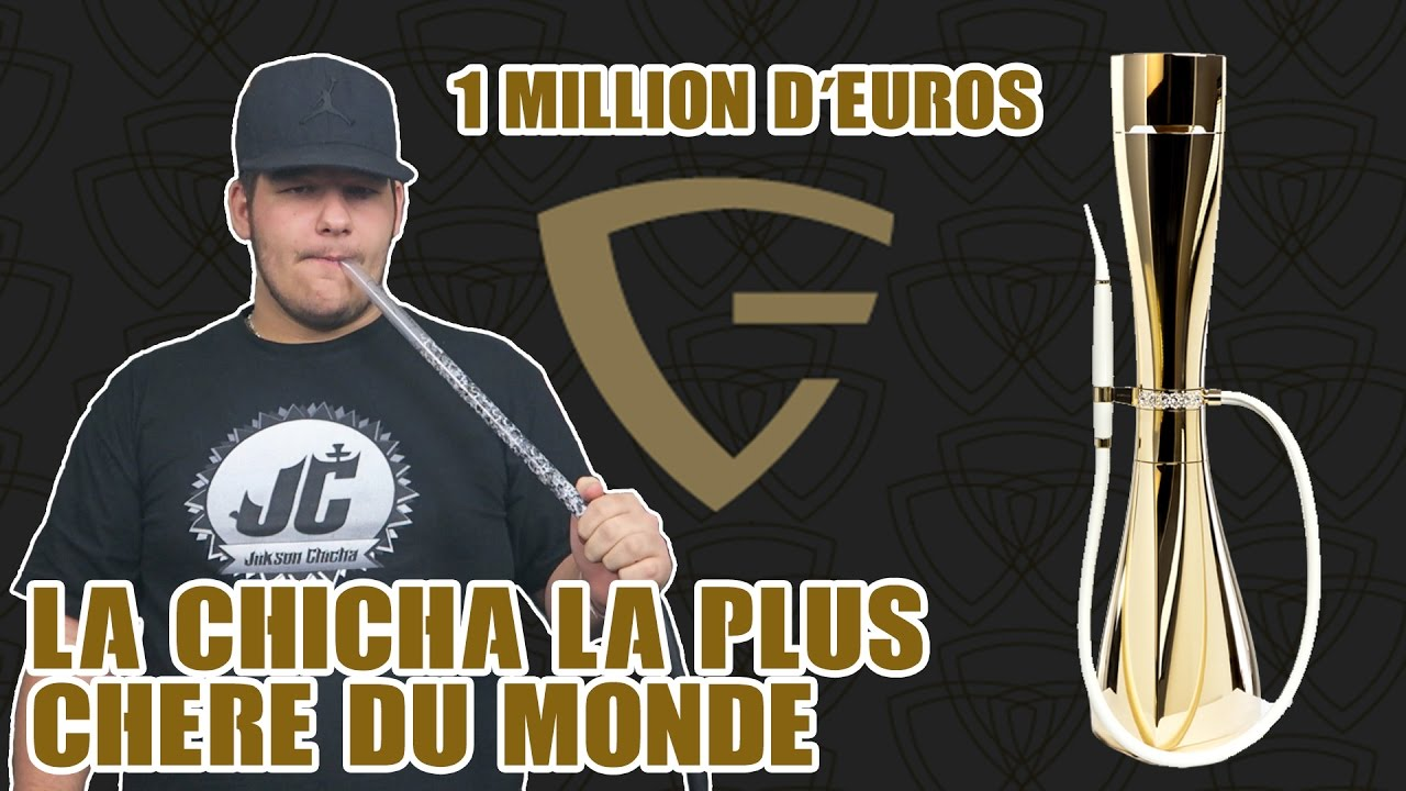 La chicha la plus chere du monde 1 million euros youtube - Piece 2 euros la plus chere ...