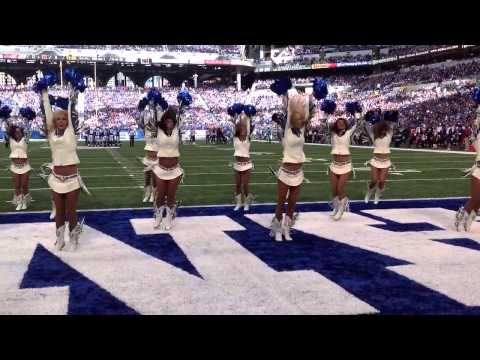 Indianapolis Colts Cheerleaders accept the #ShakeEbolaOff Challenge!