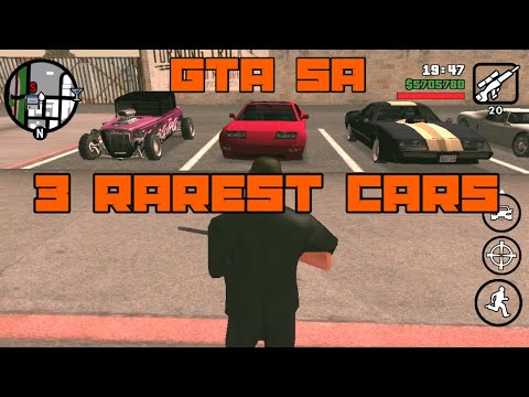GTA SA IOS | 3 Rarest Cars And How To Get Them (No Cheats Used)