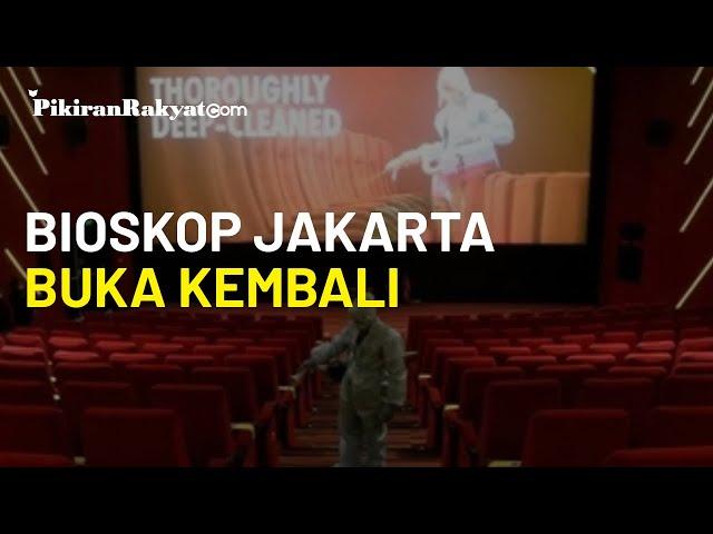Bioskop di Jakarta Mulai Dibuka Lagi Hari Ini, Jangan Lupa Pakai Masker dan Jaga Jarak!