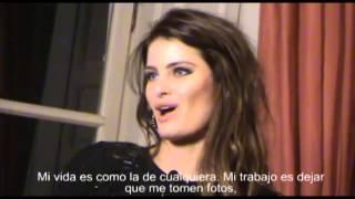 Isabeli Fontana, al desnudo