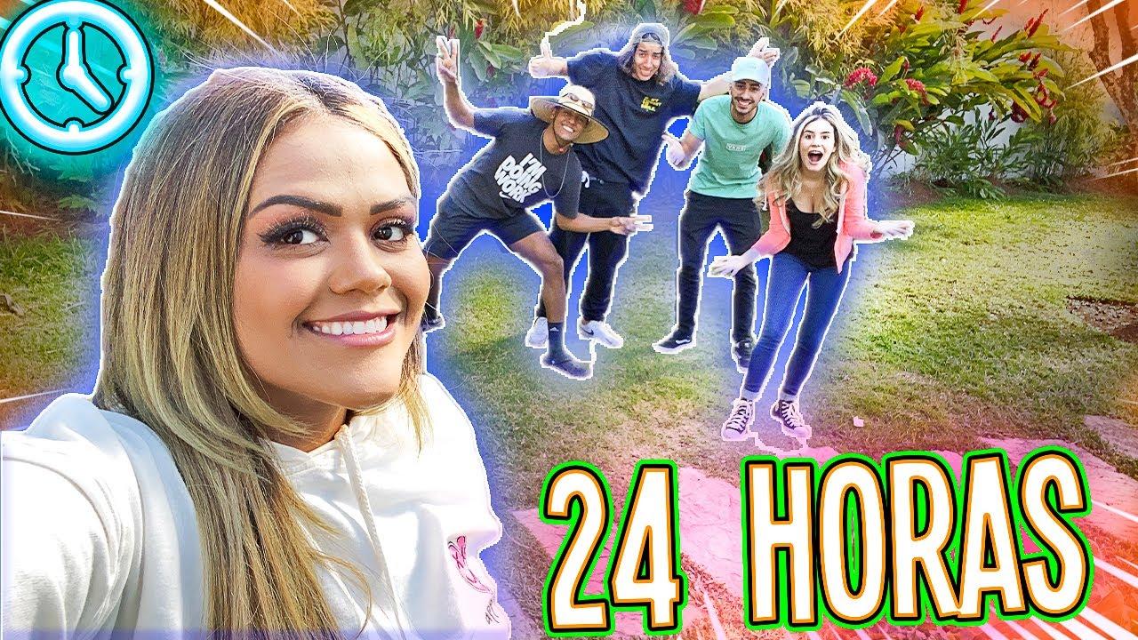 24 HORAS NO JARDIM !!!