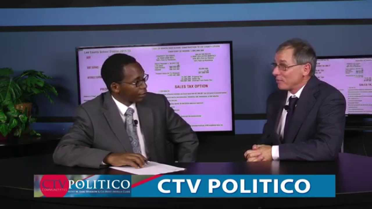 (4-15-2015) CTV POLITICO - George Fox - Speaking on Lee School District tax