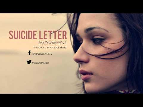 "Rap / Rock Sad Guitar Beat Instrumental 2015 *New* ""Suicide Letter"""