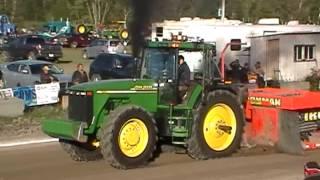 John Deere 8110 pulling Richmond 2013