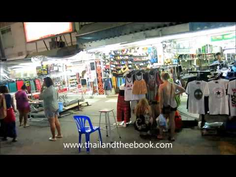 A walk on Khao Sarn Road in the evening 2014