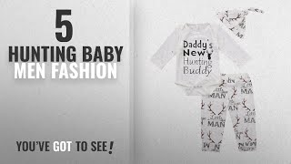 Top 10 Hunting Baby [Men Fashion Winter 2018 ]: Baby Boy Girl Suit For Baby Shower Deer Print Long