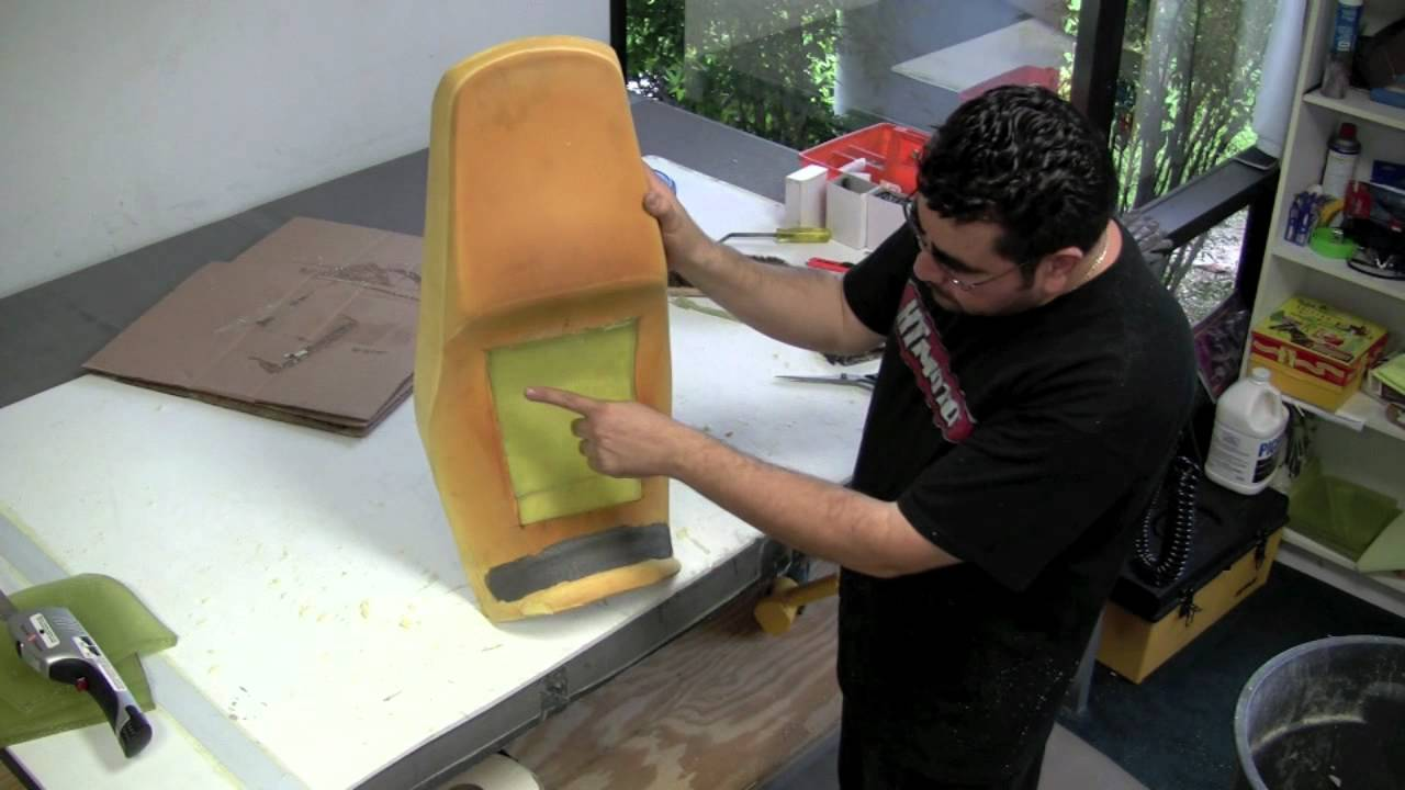 DIY Custom Motorcycle Seat  Gel Installation  YouTube