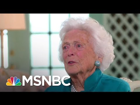 Former First Lady Barbara Bush Has Died At 92 | Hardball | MSNBC
