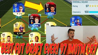 BEST IMOTM FUT DRAFT EVER! OMG! 97 IMOTM RONALDO! - FIFA 16: ULTIMATE TEAM (DEUTSCH)