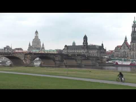 Die Augustusbrücke in Dresden