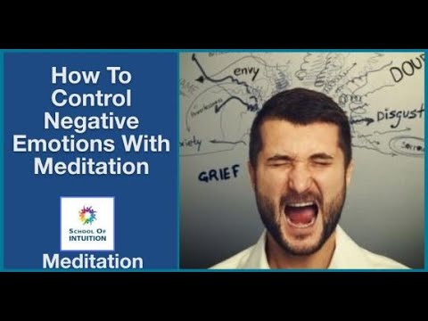 Meditation Benefits Part 3, How To Control Negative Emotions - UYT086