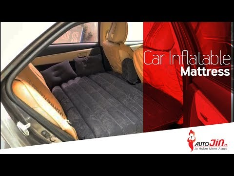 CAR BACK SEAT INFLATABLE AIR MATTRESS BED