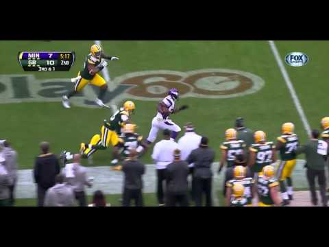 Adrian Peterson vs. Packers