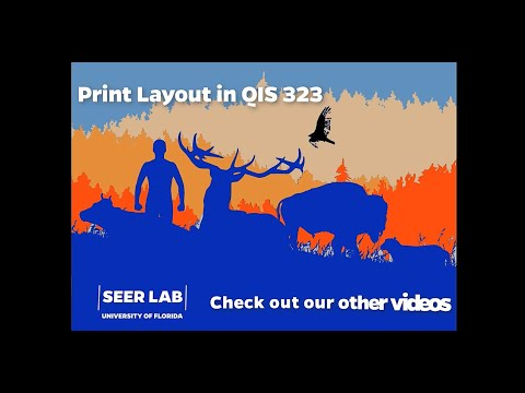 Print Layout in Q-GIS 3.2.3