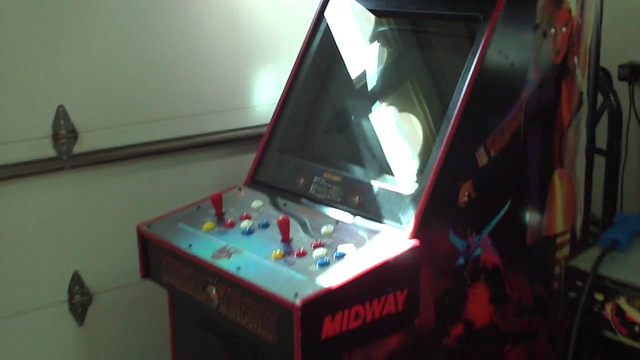 Ultimate Mortal Kombat 3 UMK3 Arcade cabinet all done - YouTube