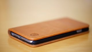 Shieldon Natural Leather Wallet Case (iPhone 6/6s Plus)