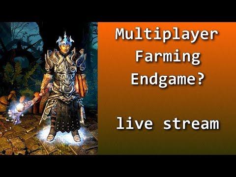 Grim Dawn Multiplayer Farming Endgame!