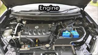 2009 Nissan X-Trail start up and in-depth tour