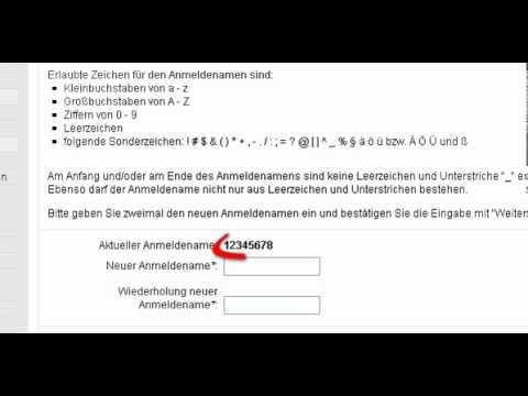 Sparkasse Neuss Quick Tipp - Online Banking Anmeldenamen aendern (SMS TAN)