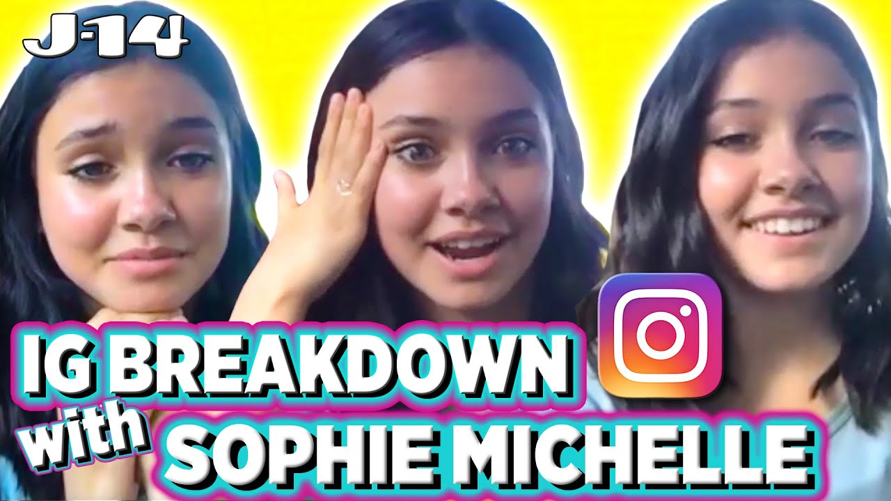 Sophie Michelle Reacts to Old Instagram Pics With Max & Harvey, Johnny Orlando & More | IG Breakdown