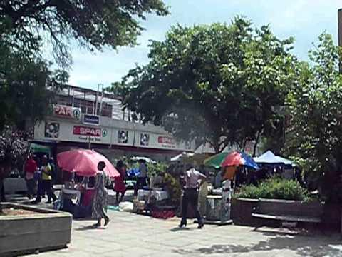 Downtown Gaborone - The Mall - Botswana - January 2011