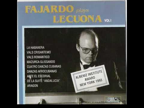 Ahí viene el Chino  Fajardo play Lecuona vol.1