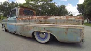 Patina 65 Chevy C10 Rat Rod Surfer Truck